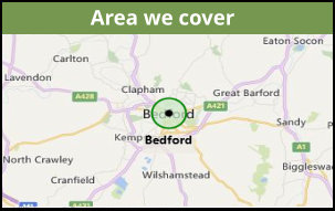 Area - driving lessons in Bedford